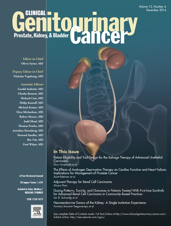 Revista – Genitourinary Cancer